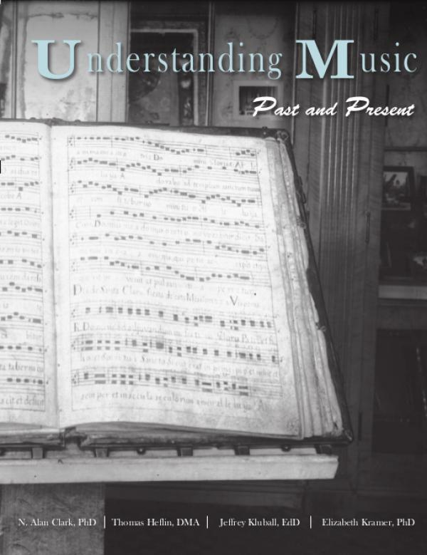 Cover of Understanding Music
